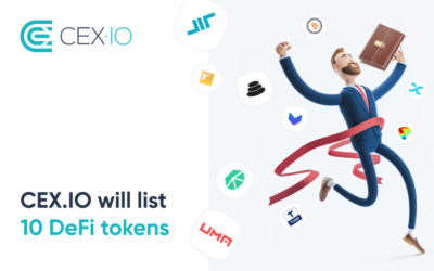 CEX.IO to List a Number of New DeFi Tokens
