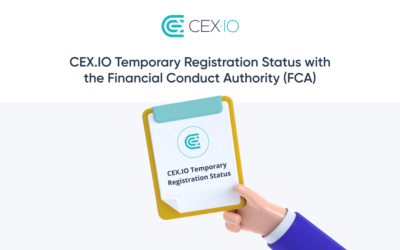 Announcement regarding CEX.IO's Temporary Registration Status with the FCA