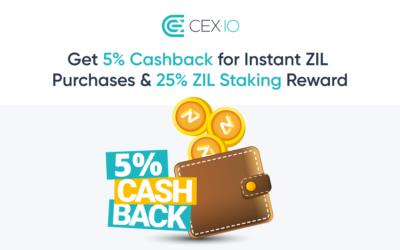 ZiIliqa rewards season on CEX.IO