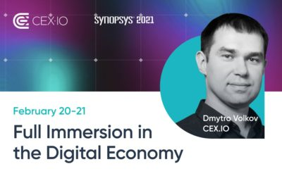 The role of exchanges in DeFi — CEX.IO to speak during the Synopsis 2021 summit