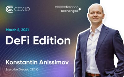 Security aspects in DeFi – CEX.IO to participate in The Conference.Exchanges
