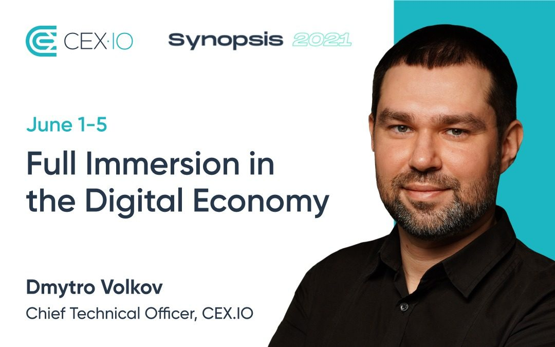 CEX.IO will take part in the Synopsis 2021 online conference