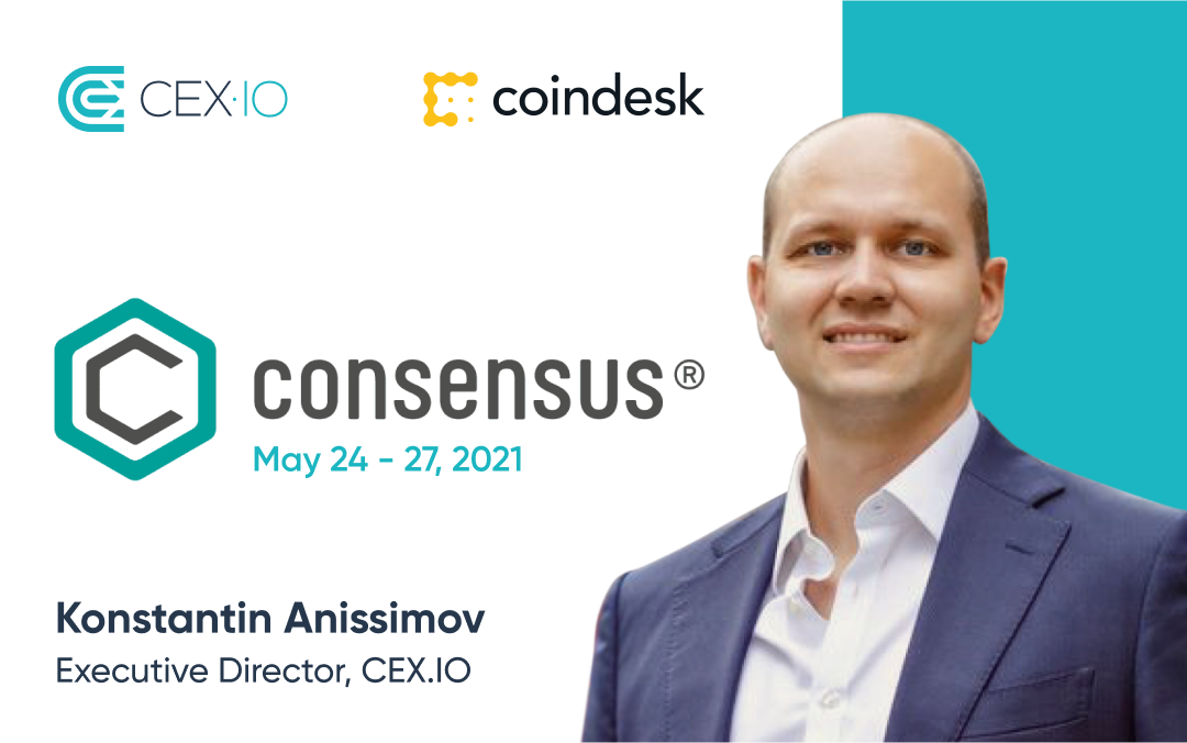 CEX.IO is to take part in the Consensus event by CoinDesk