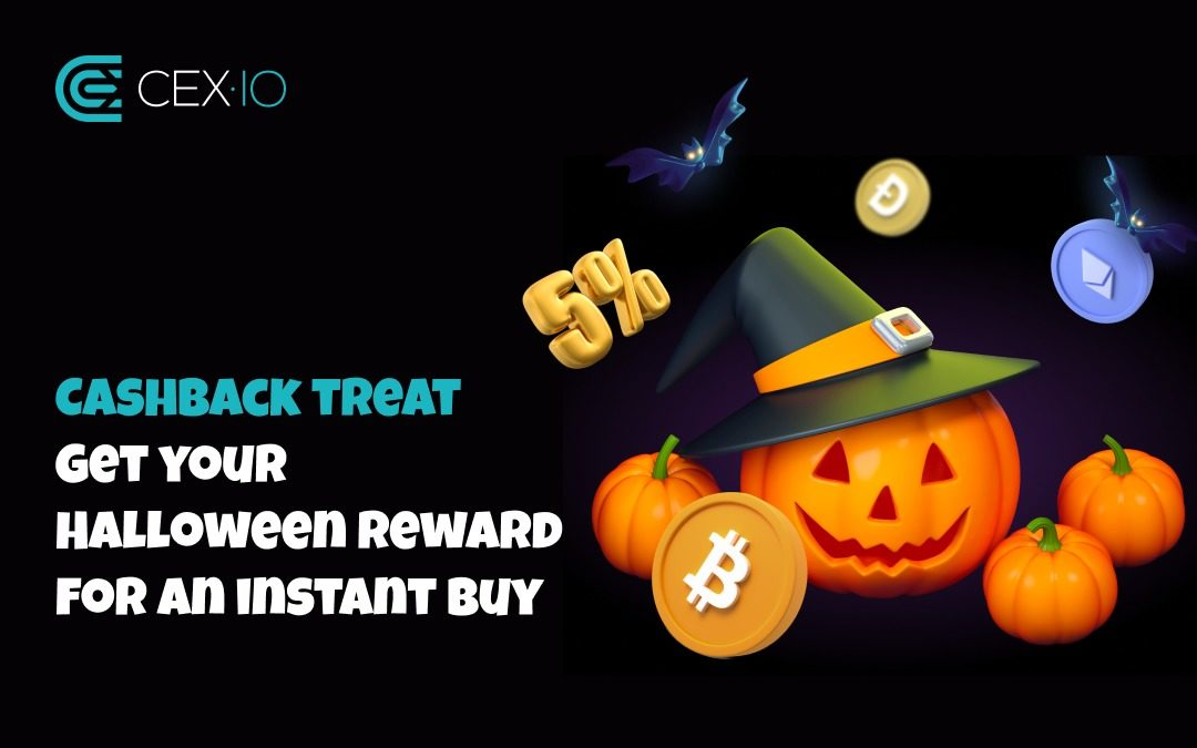 Up to 5% Cashback on Instant Crypto Purchases